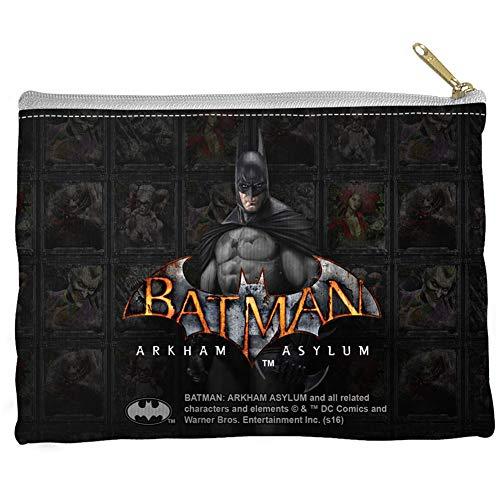 Batman Arkham Asylum - Bolsa com zíper Arkham Inmates 23 x 15 cm