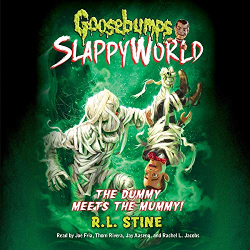 Goosebumps Slappyworld #8 cover art