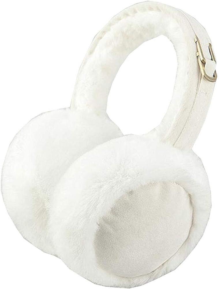Cute Animal Soft Earmuffs Winter Warm Outdoor Ear Covers Headband Fur Ear warmer,#B1