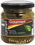 Gourmet - Pepinillos especiados agridulces - Al vinagre - 110 g - , Pack de 6