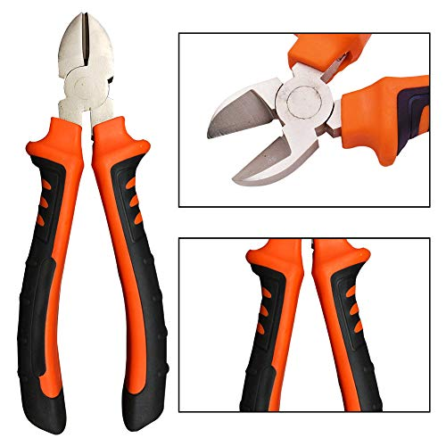Cutting Pliers Electrical Wire Cutter Scissor Side Snips Easy Carry High quality