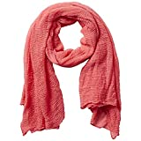 Tickled Pink Women's Lightweight Summer Insect Shield Scarf, Classic Coral, One Size