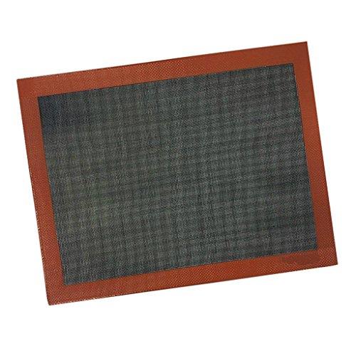 Sharplace Tappetino da Torta Forno Microforato Antiaderente Fodera in Silicone per Forme di Cottura e Maccheroni / Pasticcini / Biscotti