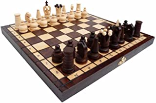 REAL MAXI, madera sólida, juego de ajedrez