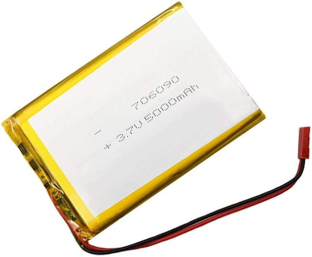Rechargeable Lithium Polymer Batteries 706090 3.7v Li-Ion Polymer Battery 5000mah for Power Bank-1pcs