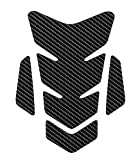 OTOLIMAN 3D Motorcycle Carbon Fiber Vinyl Gel Gas Tank Pad Protector Decal and Sticker Tankpad. (New Generation Silicone-Based Adhesive)