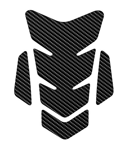OTOLIMAN 3D Motorcycle Carbon Fiber Vinyl Gel Gas Tank Pad Protector Decal and Sticker Tankpad