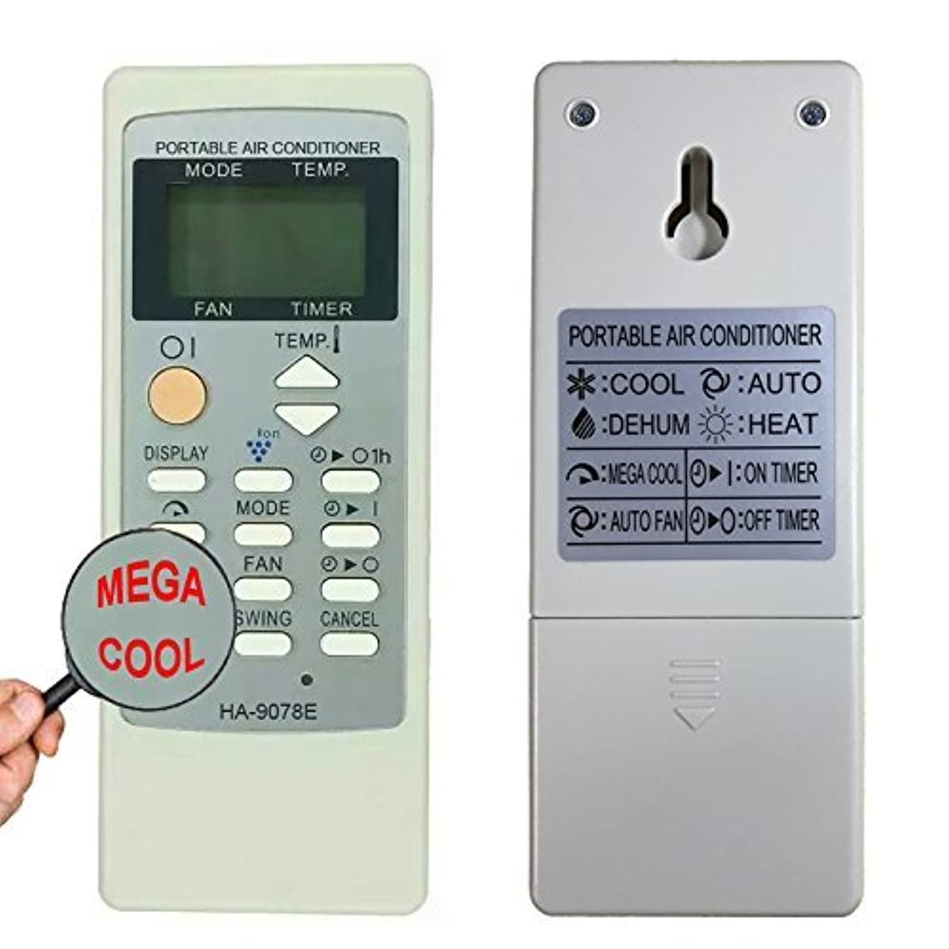 YING RAY Replacement for Sharp Air Conditioner Remote Control for Model cv-10mh