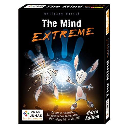 Pravi Junak The Mind Extreme Adria Edition – Juego de cartas cooperativas únicas de The Mind