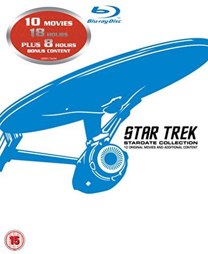 Star Trek - 10 Movie Stardate Collection (12 Blu-Ray) [Edizione: Regno Unito] [Reino Unido] [Blu-ray]