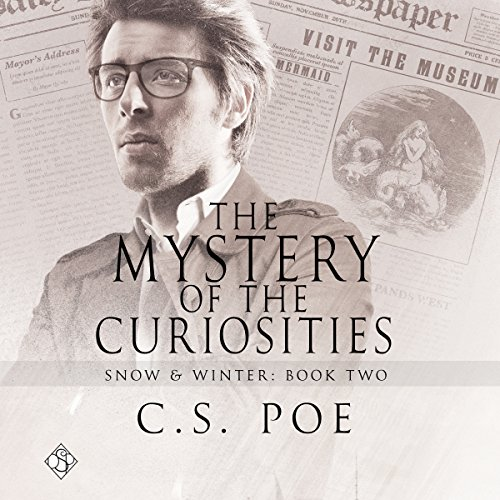 The Mystery of the Curiosities audiobook cover art