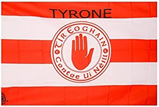 TYRONE Official Ireland GAA Crest County Flag 152cm x91cm Very Limited Stock