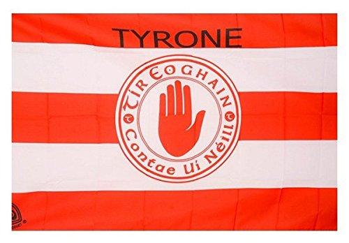OFICIAL DE IRLANDA GAA cresta de la bandera de país TYRONE. 152cm x91cm acción muy limitada