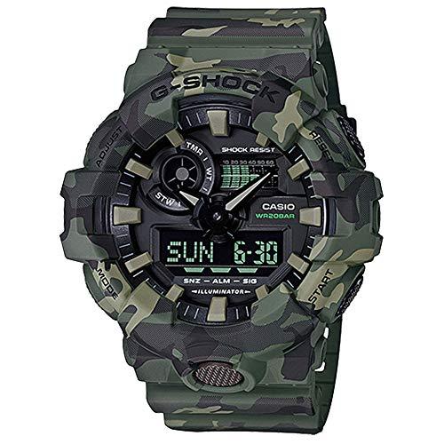 Casio G-Shock Men's GA700CM-3A Green/Camo One Size