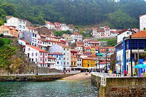 España Cudillero Asturias España Rompecabezas para adultos Rompecabezas de madera de 500 piezas para adultos