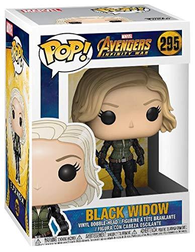 Funko Pop Black Widow (Los Vengadores: Infinity War 295) Funko Pop Los Vengadores