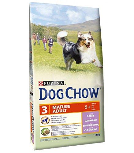 Dog Chow Adulte Senior À L'agneau 14 KG
