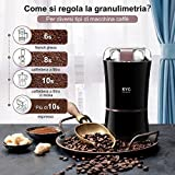 Zoom IMG-2 kyg macinacaffe elettrico 300w con