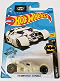 Mattel Hot Wheels 2019 Batman The Dark Knight Batmobile, 153/250 (White)