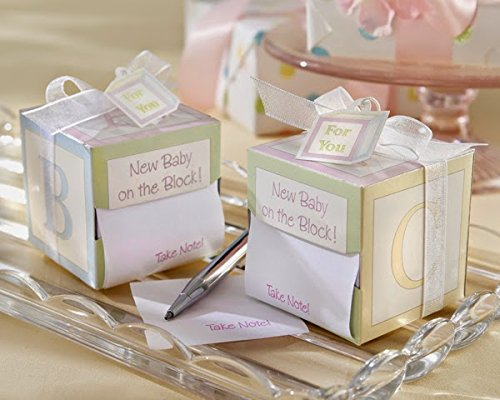 """50 """"Take Note! New Baby On the Block!"""" Sticky Notes"""
