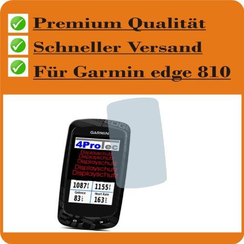 4ProTec I 4 x Entspiegelnde Displayschutzfolie Bildschirmschutzfolie für Garmin Edge 810 Schutzhülle Displayschutz Displayfolie Folie