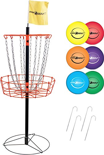 Park & Sun Sports Portable Frisbee/Disc Golf Steel Target...