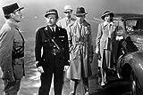 Poster Claude Rains and Humphrey Bogart Ingrid Bergman in