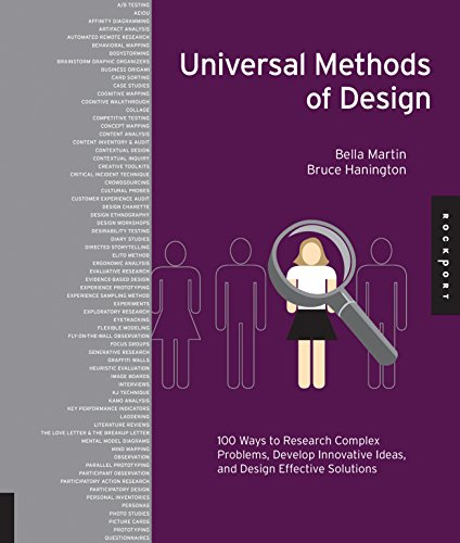 Compare Textbook Prices for Universal Methods of Design: 100 Ways to Research Complex Problems, Develop Innovative Ideas, and Design Effective Solutions 58480th Edition ISBN 0080665008061 by Hanington, Bruce,Martin, Bella