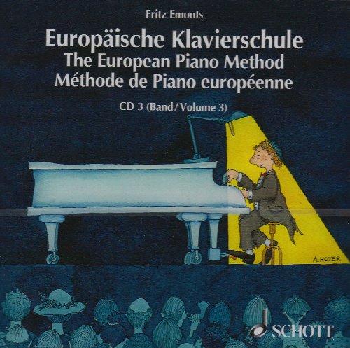Europäische Klavierschule CD (einzeln) Band 3: Band 3. CD.