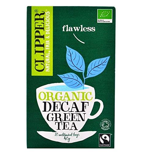 Clipper Bio Green Tea Decaf, 20 bolsitas - 6 unidades