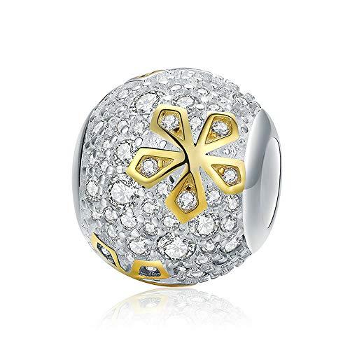 Shining Clover Authentieke 925 sterling zilver glanzend klaver bloem kralen bedels passen originele bedelarmband DIY sieraden maken