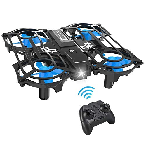 Mini Drones for Kids, RC Small Quadcopter Drone with Altitude Hold, 3D Flips & Extra Fuselages Blade Accessories Great Toys for Children & Beginners