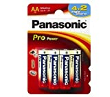 Panasonic Pro Power AA 4+2 Single-use
