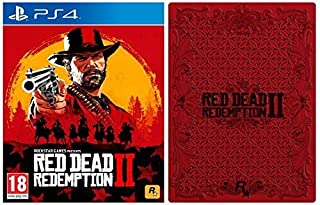 Red Dead Redemption 2 with Collectible SteelBook (Exclusive to Amazon.co.uk) (PS4) (B07KBM7J8S)   Amazon price tracker / tracking, Amazon price history charts, Amazon price watches, Amazon price drop alerts