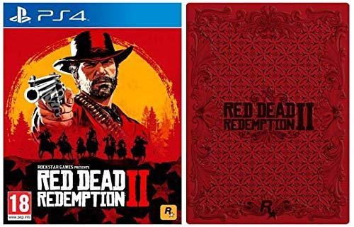 Red Dead Redemption 2 with Collectible SteelBook (Exclusive to Amazon.co.uk) - PlayStation 4 [Importación inglesa]