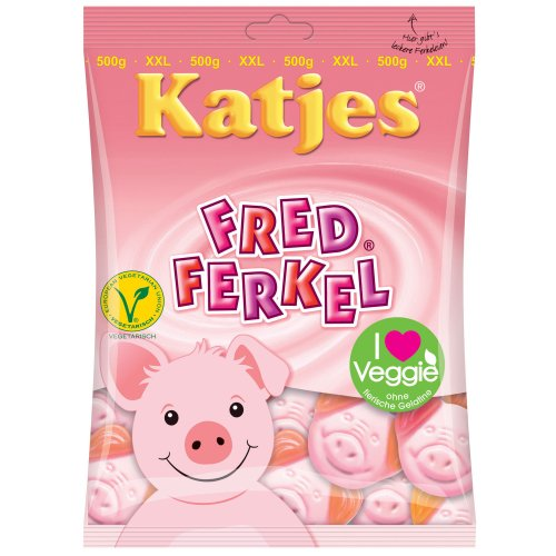 Katjes Fred Ferkel, 500 g