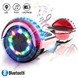 COLORWAY Overboard Hover Scooter Board Gyropode 6.5 Pouces, Scooter Electrique Moteur 700W,...