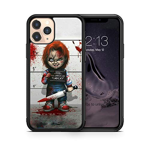 Halloween Chucky Doll case Compatible with iPhone 12 Pro Max Mini 11 XR X 7 8 Plus SE Samsung Galaxy S20 S10 S9 S10e Plus Note 9 10 20 Ultra Google Pixel 3 3a XL 4 TPU SN (iPhone 12/12 Pro)