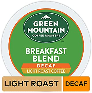 Green Mountain Coffee Breakfast Blend Decaf Keurig Single-Serve K-Cup pods, Light Roast Coffee, 96 Count