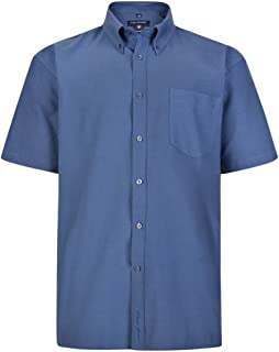 Kam Jeanswear Men's Oxford Short Sleeve Shirt