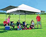 MASTERCANOPY Pop up Canopy Tent Outdoor Canopy of 10x17 ft Instant Canopy with 170 Square feet of Shade Canopy. Sandbags x4, Tent Stakes x8(White)