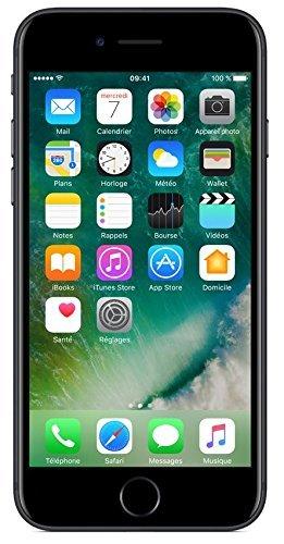 Apple iPhone 7 128GB - Nero - Sbloccato (Ricondizionato)