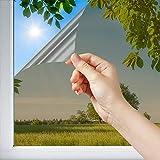Dimexact Pellicola Anti Calore Solare per Vetri, Installazione Esterna Vetro Superiore a 1,2 Metri Quadri, Bronzo, Larghezza Fino a 1,52 m, in Rotolo