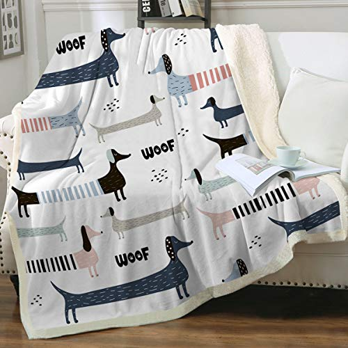 Dog-Themed Blanket