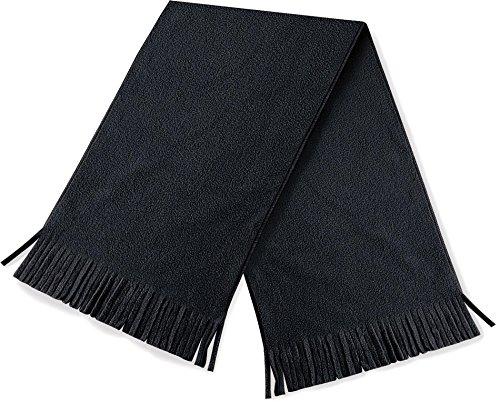 Beechfield Unisexe Supra toison Dolomie Garniture gland hiver chaude écharpe - Noir