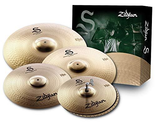 Zildjian S390 S Family Series, Confezione da 4 pezzi