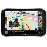 TomTom Go Premium, GPS para coche, 6 pulgadas,con Actualizaciones via Wifi, Trafico y Radares para Toda la Vida Mediante Tarjeta Sim Incluida, Mapas del Mundo, Navegación Último Kilómetro e Ittt