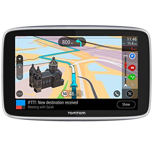 TomTom Go Premium, GPS para coche, 6 pulgadas,con