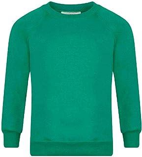 Uneek Children/'s Round Neck Sweatshirt Kids Pullover School Casual Jumper TOP