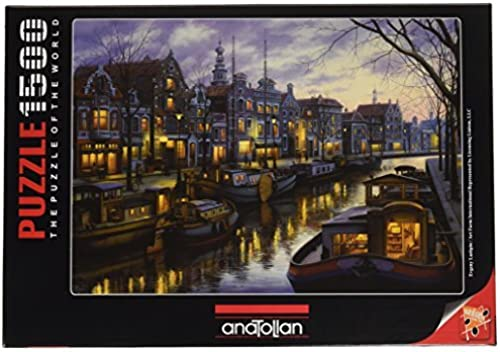 Canal Life Jigsaw Puzzle (1500 Pieces) by Anatolian